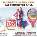 La ParkLake Shopping Center începe anul cu reduceri surprinzătoare și evenimente inedite