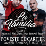 "Concert La Familia, ""Poveste de cartier"""