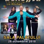 Boney M feat Liz Mitchell, concert aniversar 40 de ani de muzică, live la Sala Palatului