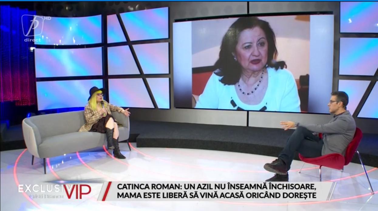 Mioara Roman, bolnavă de Parkinson, se tratează intr-un azil