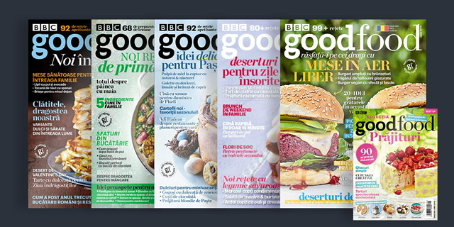 BBC GoodFood – succes în creștere în România