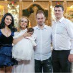Andreea Dogaru, nașă de botez