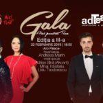 """Andreea Marin prezinta Gala """"Aici pentru TINE"""", de la Brașov"""