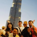 Alina și Romeo de la trupa Alesis, croazieră de lux în Emiratele Arabe