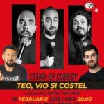 """Program și acces - TEO, VIO SI COSTEL """"100% PĂRERI"""" – show sold out pentru al 2-lea an consecutiv!"""