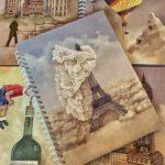 Agende cu coperți personalizate ca opere de artă