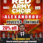 Corul ALEXANDROV revine in Romania!