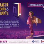 """Narada și Ministerul Educației și Cercetării lansează cu sprijinul Cora România inițiativa """"Reacție pentru educație"""""""