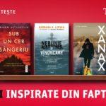 5 cărți inspirate din fapte petrecute în realitate, de la Editura Trei #ramanemputerniciimpreuna  #carteacareajuta