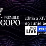 Gala Premiilor GOPO se vede live pe PRO TV PLUS!