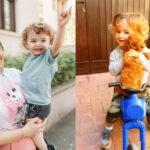Ca să le fie școala mai suportabilă acasă, Ela Crăciun le-a făcut copiilor cadou un cățel extrem de rar în România