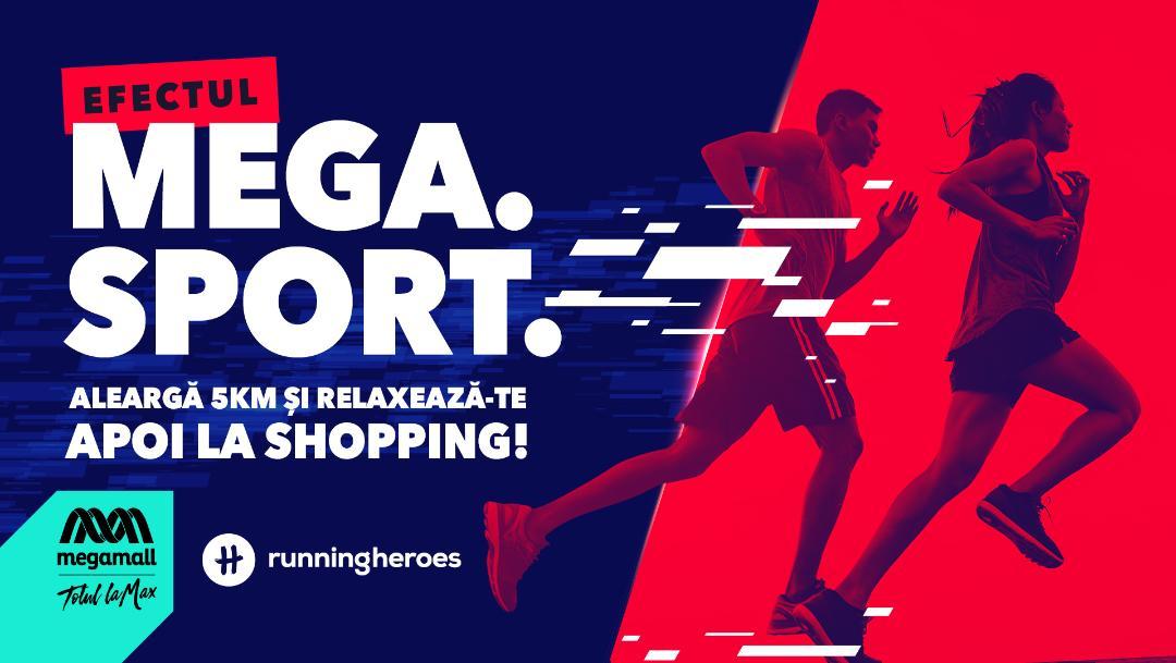 Mega Mall premiază adepții unui stil de viață activ, prin intermediul aplicației Running Heroes