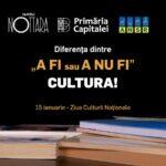 """Diferența dintre """"a fi sau a nu fi""""? Cultura!. Eminescu, interpretat de actorii Teatrului Nottara și tradus în limbaj mimico-gestual de ANSR de Ziua Culturii Naționale"""