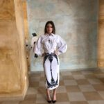 A dus broderiile de la Tismana, pe podium la New York! Designerul Dorin Negrău, pentru a două oară cu o colecție online la New York Fashion Week!