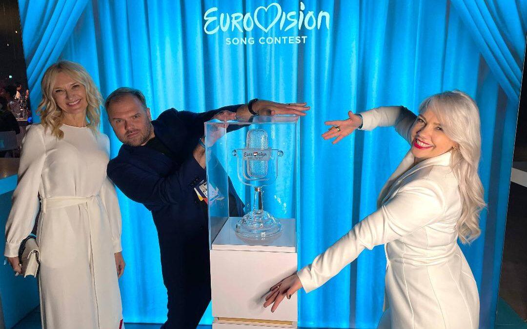 Românca Ioana Todoran a fost parte din echipa care a creat coafurile concurenților de la Eurovision
