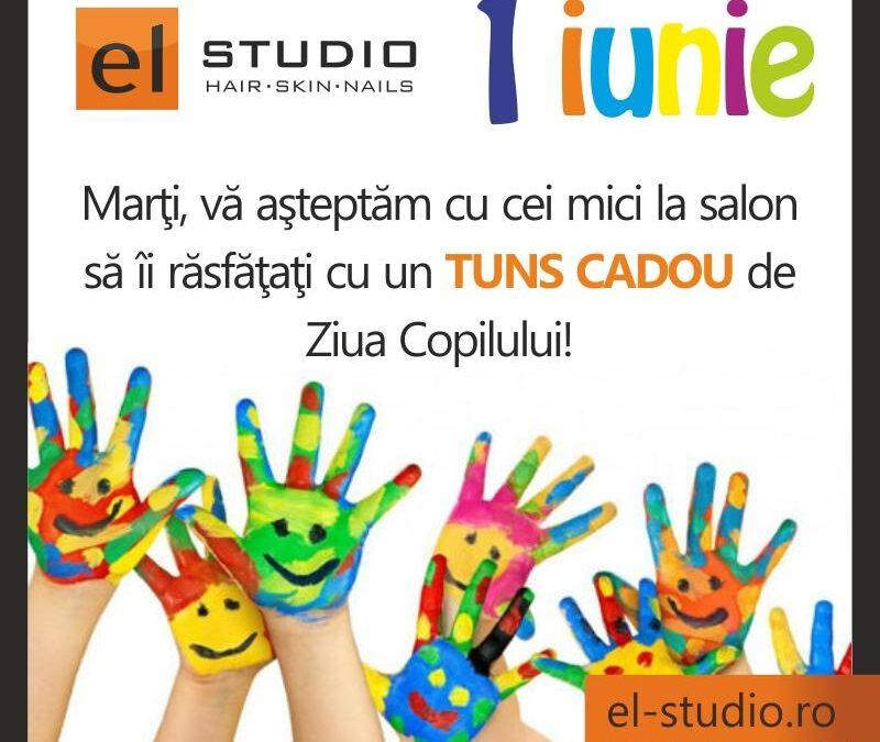 De 1 Iunie, copiii primesc cadou de la El Studio: un tuns gratuit