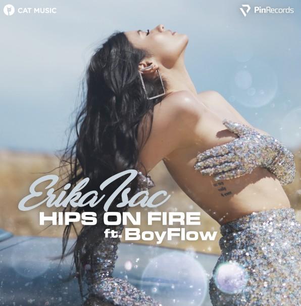"Colaborare hot: Erika Isac și BoyFlow lansează ""Hips on fire"""
