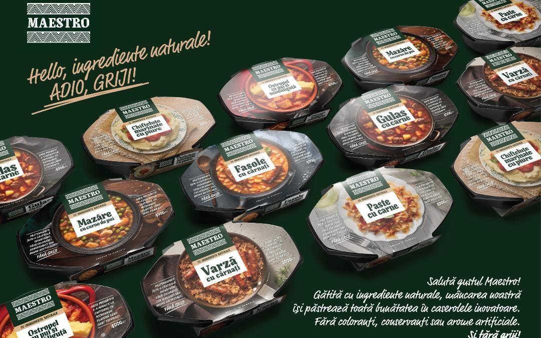 "Caroli Foods și Next Advertising își salută consumatorii cu ""Hello, ingrediente naturale! Adio, griji!"""