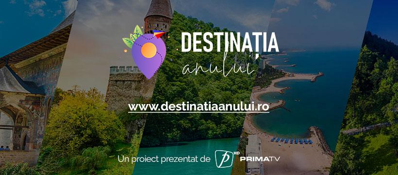 6 orașe si regiuni din România se luptă pentru marele trofeu, titulatura de Destinația anului 2021 în România