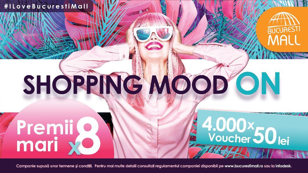 București Mall – Vitan lanzează campania Shopping Mood On