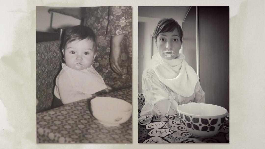 În rol de copil – actorii Teatrului Nottara au reprodus fotografii din copilărie cu ocazia Zilei Internaționale a Copilului