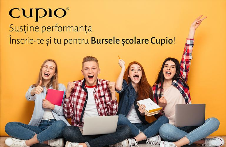 """Liceenii cu rezultate școlare remarcabile se pot înscrie până pe 1 iulie în programul """"Bursele Cupio"""""""