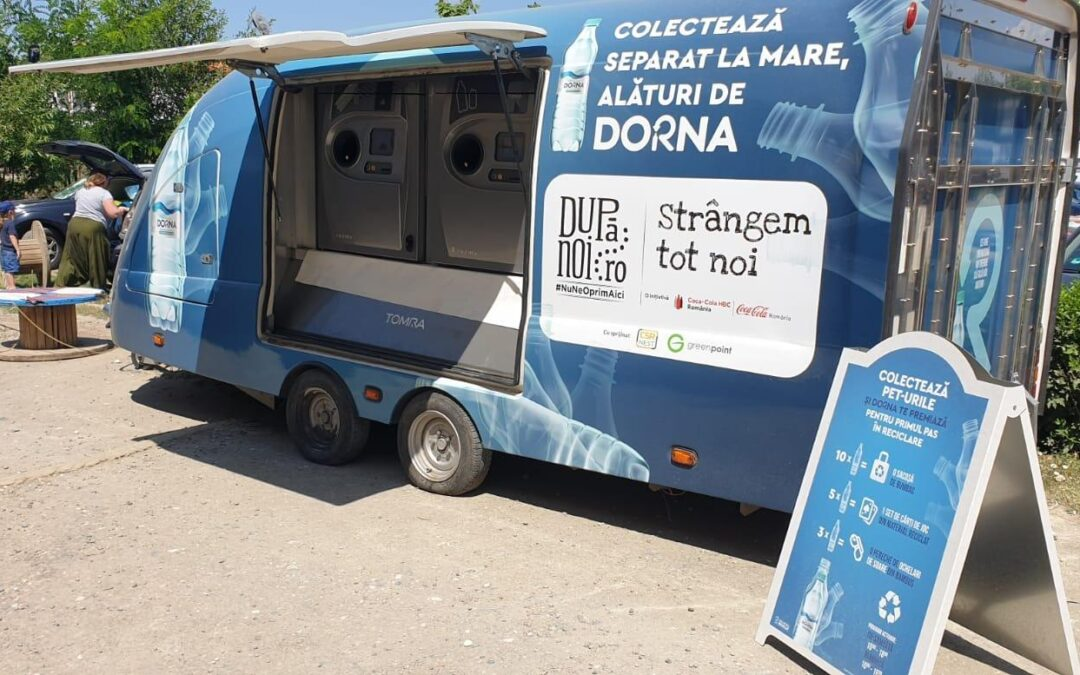 Sistemul Coca-Cola România și Dorna lansează o nouă inițiativă de colectare separată pe litoral, sub umbrela După noi, strângem tot noi
