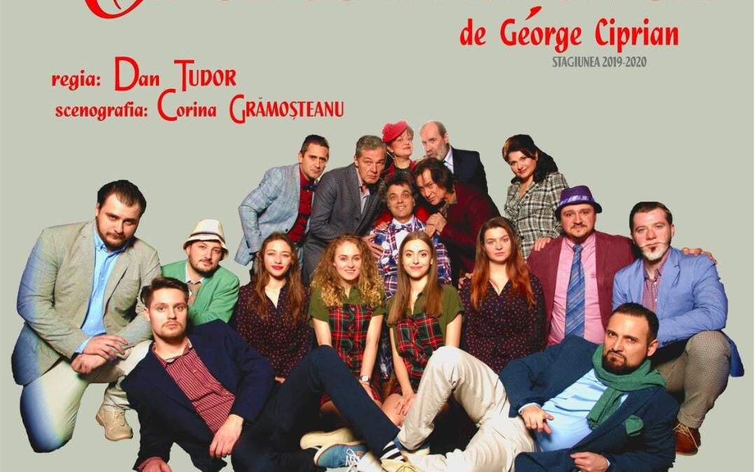 """Premiera spectacolului de teatru """"Omul cu mârțoaga"""" în regia lui Dan Tudor, se joacă pe 10 iulie, la Teatrul George Ciprian – Buzău"""