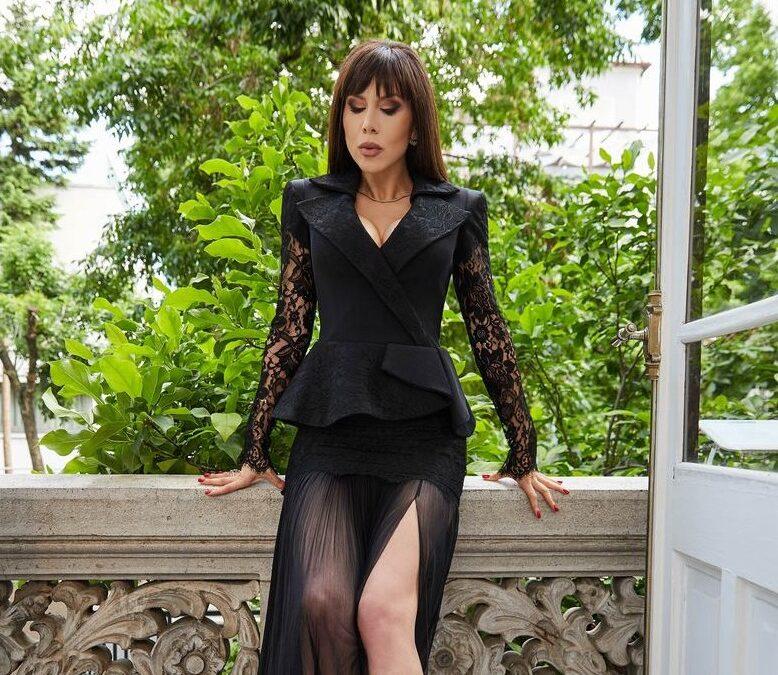 """Denise Rifai: """"Negrul iti ofera acea eleganta lipsita de ostentatie"""""""