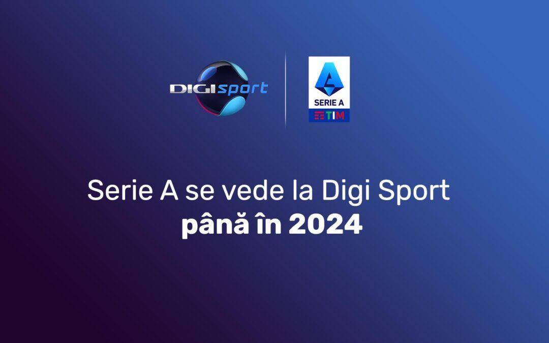 Digi Sport va difuza campionatul italian de fotbal până în 2024