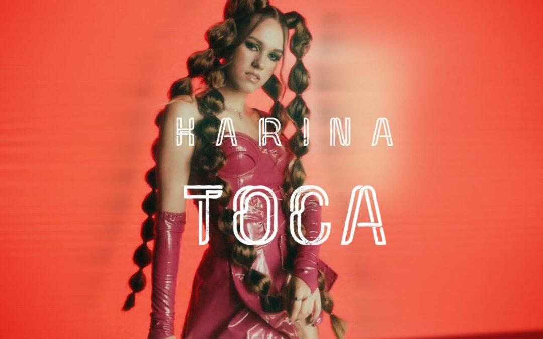 """Karina a lansat videoclipul piesei """"Toca"""""""