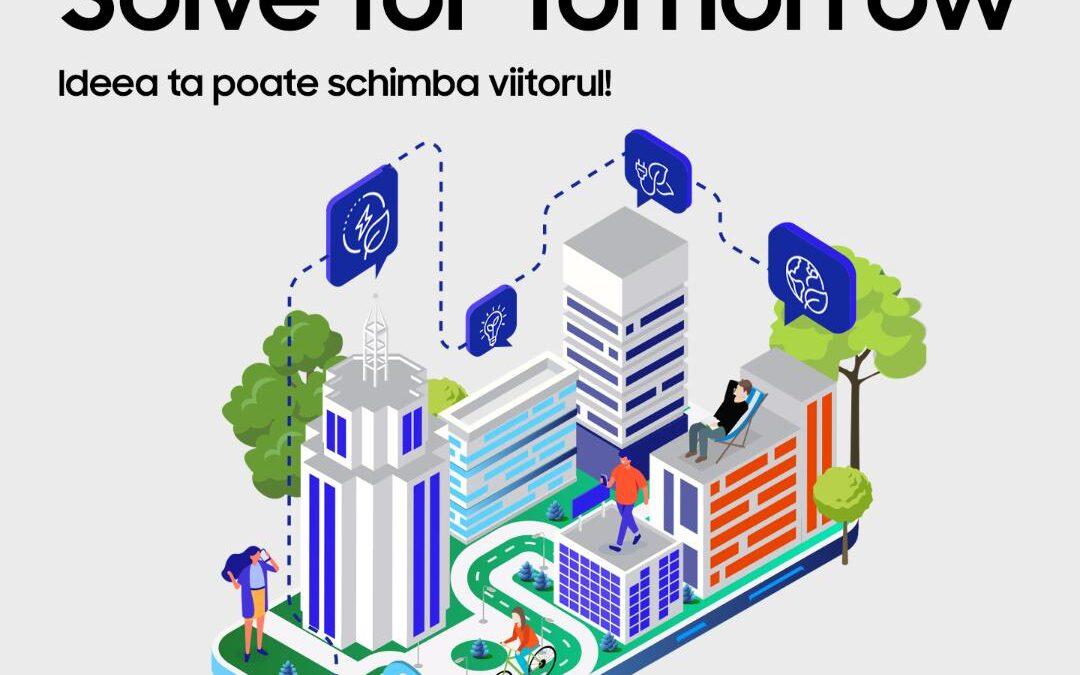 Solve For Tomorrow by Samsung – competiția națională care încurajează elevii să găsească idei inovatoare prin tehnologie și educație, pentru binele comunității