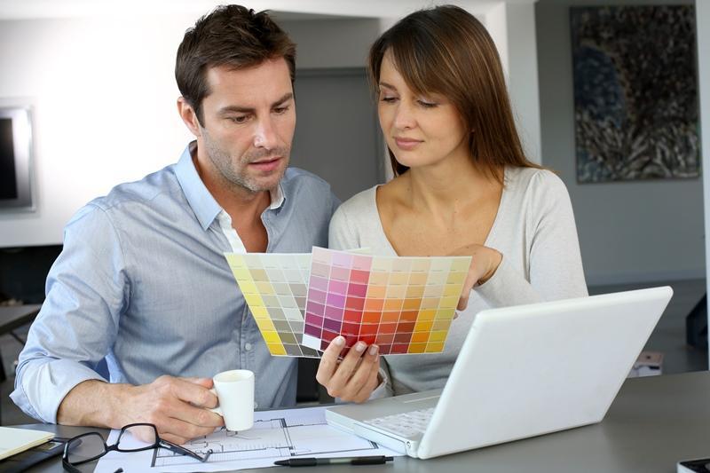 Alegerea culorilor pentru zugrăveală, o joacă pentru cei creativi și curajoși